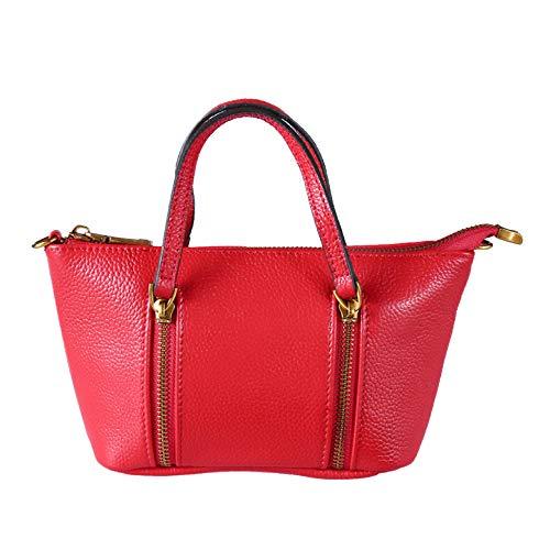 Red Main Bandoulière à Sacs Main Body Cuir Fourre Bag Designer En Sac Sacs Véritable à à Cross tout Femme Grand xHfqZ5