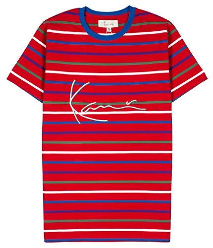 Embroidered Stripe Shirt - Karl Kani KANI Apache Rugby T-Shirt Tango Stripe Embroidered