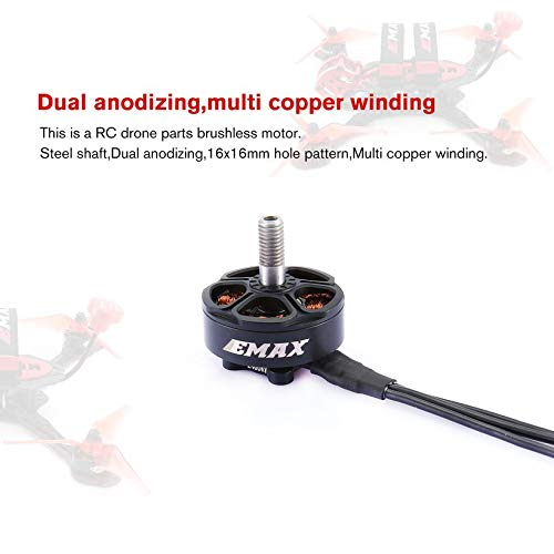 Wikiwand 4PCS Emax Hawk Buzz FS2306 4S 2400KV Brushless Motor for RC Drone FPV Racing by Wikiwand (Image #2)