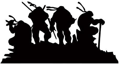 Amazon.com: Teenage Mutant Ninja Turtles Silhouette - Vinyl ...