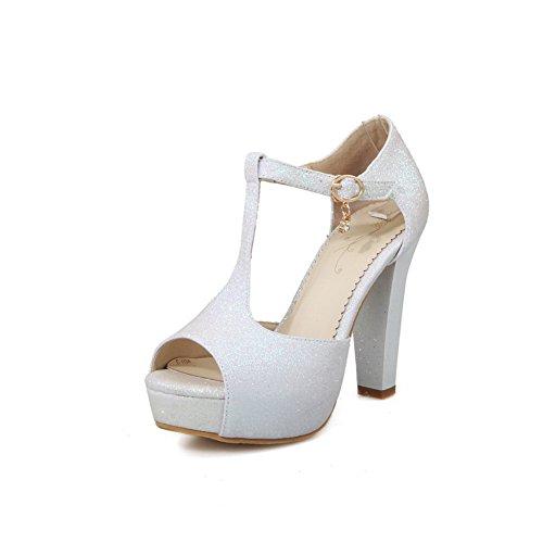 Pour Femme Slc01212 Adeesu Blanc 35 Eu 5 Sandales H5qFvF