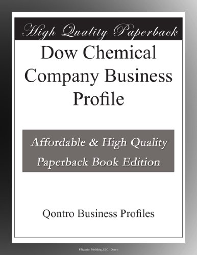 Dow Chemical Company Business Profile
