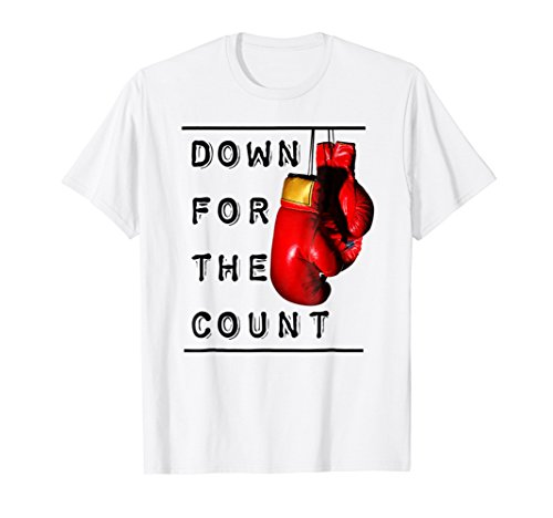 Boxing t shirt Down for the (Count Lollipops)