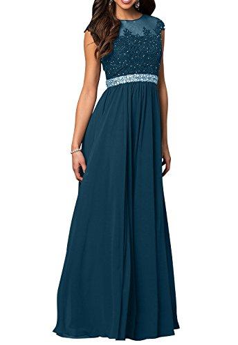 Spitze Abendkleider Festlichkleider Dunkel La Pailletten Abschlussballkleider Linie A 2 mia Blau Partykleider Ballkleider Brau SwE1Rg