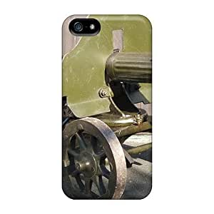 Old Machine Gun PC Phone Case For Iphone 5/5S