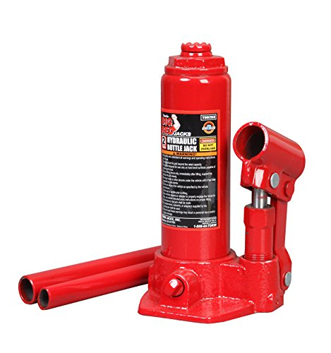 Torin T90203 2 Ton Hydraulic Bottle Jack (40 Ton Hydraulic Jack compare prices)