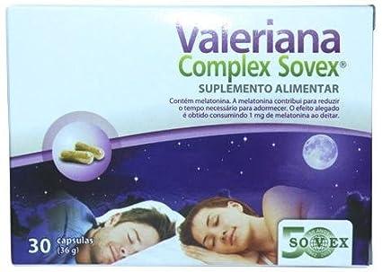 Valeriana Complex Sovex 30 Capsulas
