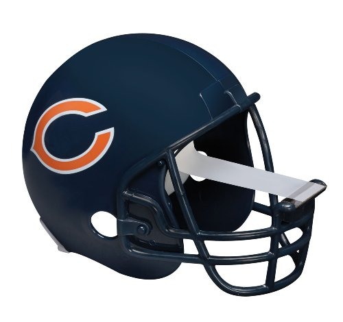 - Scotch Magic Tape Dispenser, Chicago Bears Football Helmet with 1 Roll of 3/4 x 350 Inches Tape