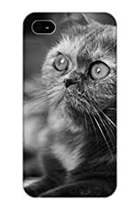 Iphone 4/4s Case - PC Case Protective For Iphone 4/4s- Animal Cat Case For Thanksgiving's Gift