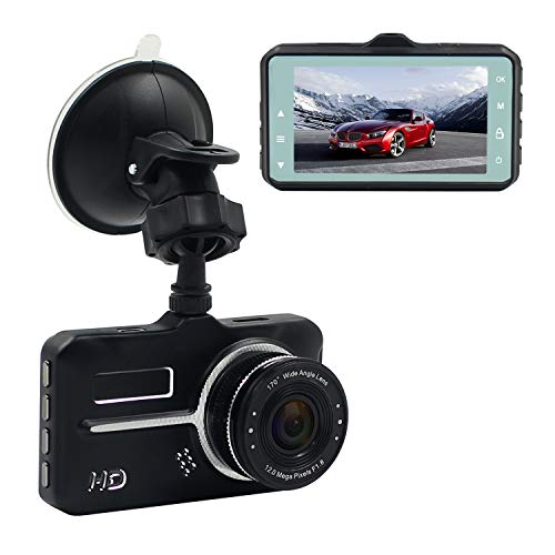 AMCSXH Full 1080P Car Camera DVR with 17