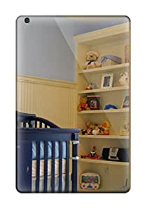 Viktoria Metzner's Shop Snap-on Case Designed For Ipad Mini 2- Nautical Boys Nursery With Built-in Bookcase And Beadboard 1561962J10621303