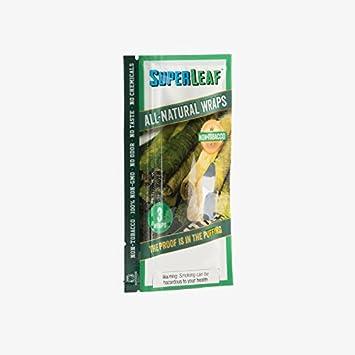 Superior Leaf 1 Pack (3 Count Pack, 3 Total Wraps) Super Leaf All-Natural  Wrap + Beamer Smoke Sticker