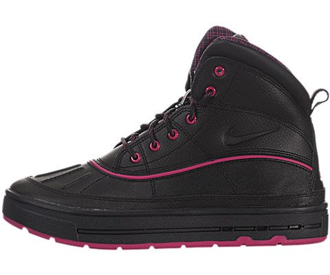 Nike (Gs) Big Kids Woodside 2 High Boots, Black, 4.5 M Us