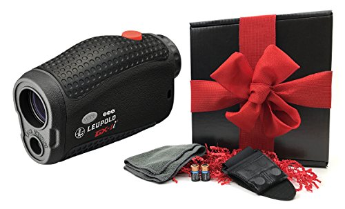 Leupold GX-1i3 Golf Rangefinder GIFT BOX | Includes Laser Rangefinder, Magnetic Golf Cart Mount, Microfiber Cleaning Towel, Carrying Case & Two (2) CR2 Batteries by PlayBetter (Image #6)