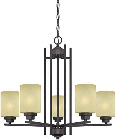 Best living room chandelier: Westinghouse Lighting 63443B Ewing 5 Light Indoor Chandelier