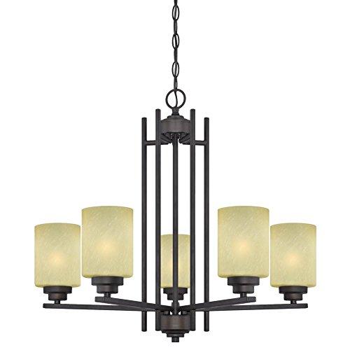 Westinghouse 63443B Ewing 5 Light Indoor Chandelier, 9.25