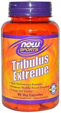 NOW Sports Nutrition, Tribulus Tribulus terrestris Extreme, Enhanced Vitality, Men s Health, 90 Veg Capsules