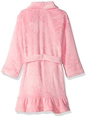 Komar Kids Big Girls' Lilac Velvet Fleece Robe
