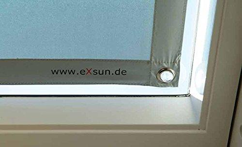 Hervorragend eXsun Sonnenschutz für Velux S08 / 608 Dachfenster Rollo  VO13