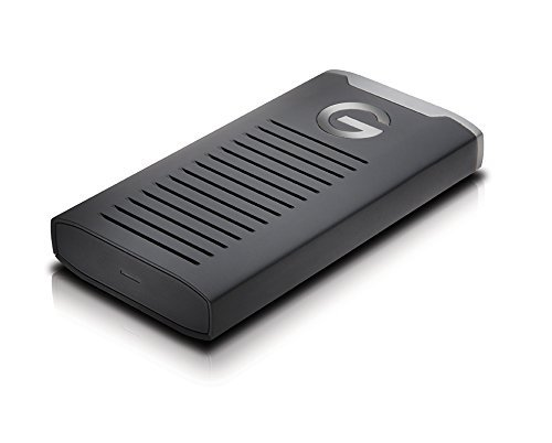 G-Technology 500GB G-DRIVE mobile SSD Durable Portable External Storage - USB-C (USB 3.1 Gen 2) - 0G06052 by G-Technology (Image #2)