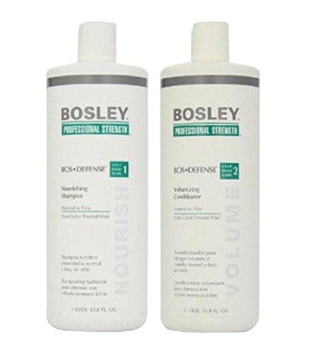 Bosley Bos Defense Shampoo & Conditioner Non-Color Treated Hair 33.8 oz