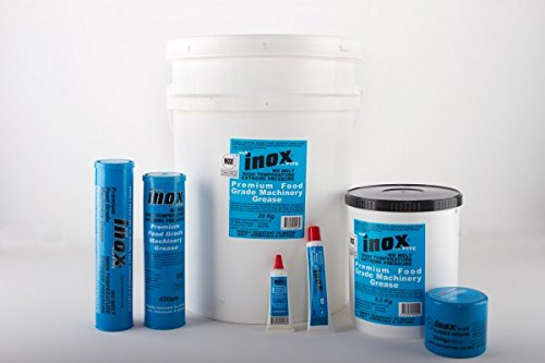 MX-6 Inox Food Grade Machinery Grease - 2.5kg (4.4lbs) Tub by INOX