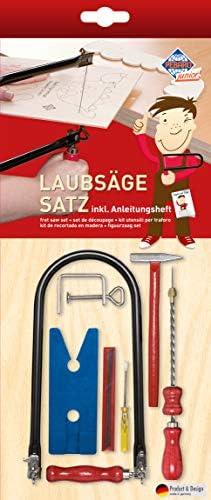 Laubsäge-Starter-Set mit Hammer, 13-teilig