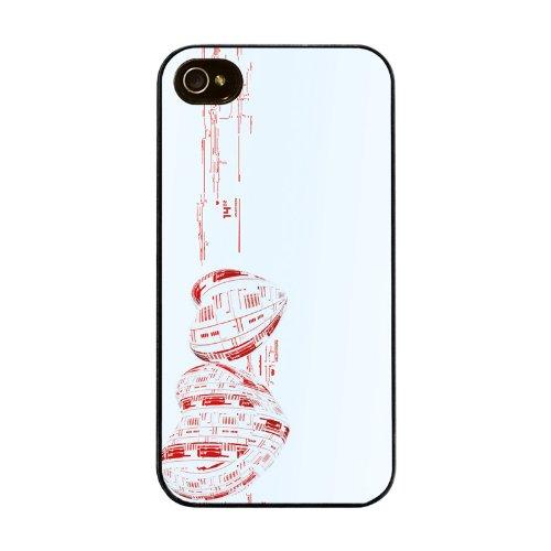 Diabloskinz H0026-0007-0019 Valentine5 Schutzhülle für Apple iPhone 4/4S