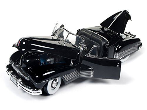 (1938 Buick Y-Job Black Limited Edition to 1002pc 1/18 Diecast Model Car by Autoworld AMM1120)