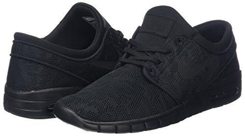 Uomo Stefan Skateboard Max Janoski Scarpe black Nike black Nero anthracite Da q6AYd1Z