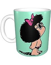 Mafalda met badpak unieke grappige keramische koffiemok thuiskantoor koffie thee kopje voor nieuwigheid festival cadeau