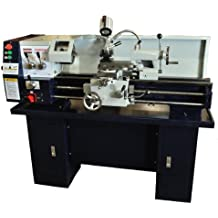 "Bolton Tools 12"" x 30"" Gear-Head Metal Lathe With Stand & Coolant System Stand Included! 