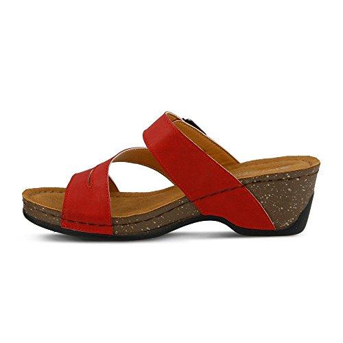 Sandalo Scorrevole Patrizia Womens Majes Rosso