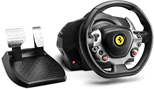 Thrustmaster TX Racing Wheel Ferrari 458 Italia Edition (XBOX ONE/PC) (Renewed)