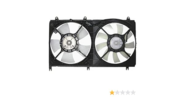Amazon.com: QP MG070-a Mitsubishi Galant Replacement AC A/C Condenser Radiator Cooling Fan/Shroud Assembly: Automotive