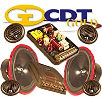 Hd-62us Gold - CDT Audio 6.5 2 Way Complete Component Set with Built-in Upstage System