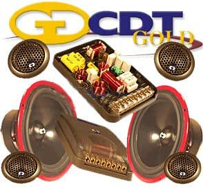 "Hd-62us Gold - CDT Audio 6.5"" 2 Way Complete Component Set with Built-in Upstage System"