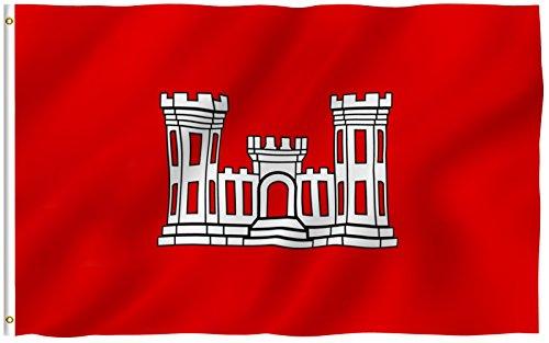 us army engineer flag - 1