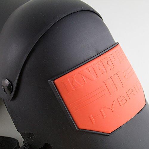Sellstrom S96211 Knee Pro Hybrid Ultra Flex III Knee Pad Gel Universal, Black/Orange by Sellstrom (Image #2)