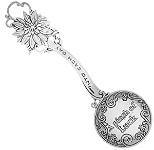 Measure of Happiness Sunflower Keepsake Teaspoon - A Pinch of Luck