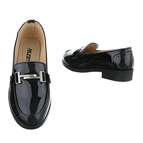 Nere Donna design Ital Da Pantofole aqwOBTWfB