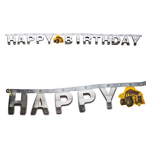 Creative Converting 31590 Construction Birthday product image