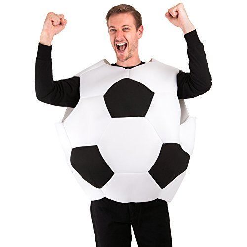 Soccer Ball Costume (Adult 3D Soccer Ball Futbol Costume)