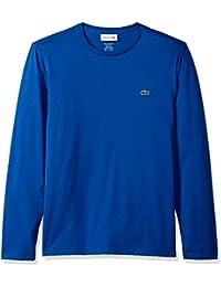 Men's Long Sleeve Pima Jersey Crewneck T-Shirt
