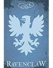 Ravenclaw: Harry Potter notebook, 100 lined pages, 6x9''