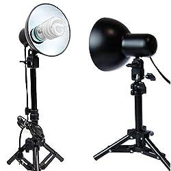Light Bulb LED 400 Watt Photography Table Top Kit Lighting Studio Lights 2 PCS For Soft Box Cube Tent