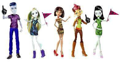 Monster High We Are Monster High Student Disembody Council Doll Set