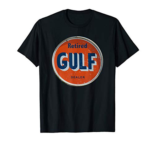(GULF OIL SIGN VINTAGE RETRO RETIRED T-Shirt)