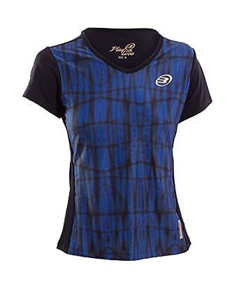 Bull padel Viserba Camiseta, Mujer: Amazon.es: Ropa y accesorios