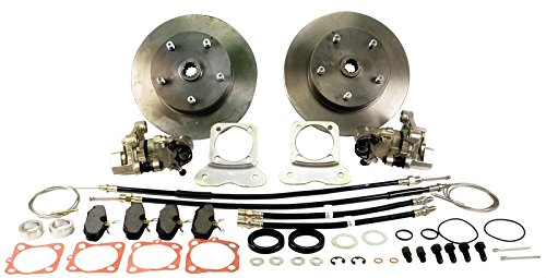 Air Disc Brakes - CHEVY DISC BRAKE KIT, E-BRAKE, dune buggy vw baja bug air cooled